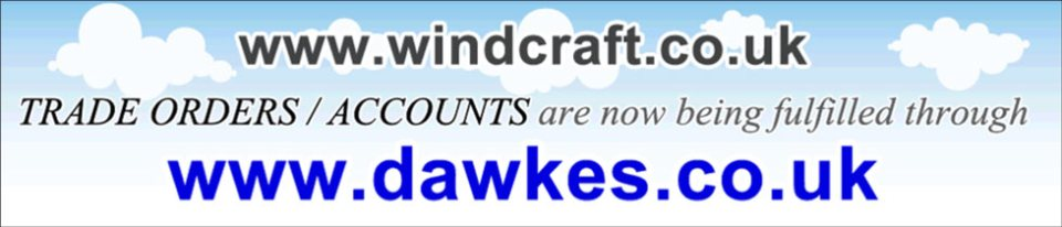 All Windcraft Trade / Account orders are now being fulfilled through Dawkes Music