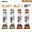 Select Jazz Tenor Sax Reed Sampler Pack - Strength 3S and 3M : Image 1