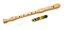 Schneider Treble Wooden Recorder - Lacquered Maple : Image 2