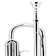 Bach Stradivarius Artisan - Bb Trumpet Silver Plated : Image 3