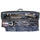 Wiseman Bass Clarinet Case - Model A - Black /Gold : Image 2