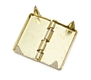 Winter case hinge - Brass - fits Besson Tenor Horn / Baritone Horn / Euphonium Cases : Image 2