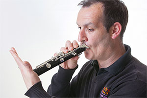 Clarinet Suction test