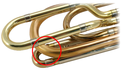 Trombone Dent Removal - After