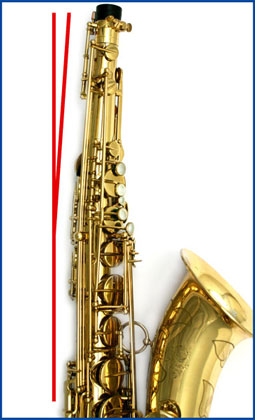 Selmer mark 6 with bent main stack - Before