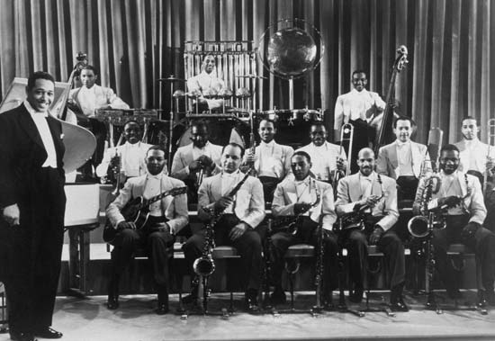 Duke Ellington Band, Hollywood, USA - 1937