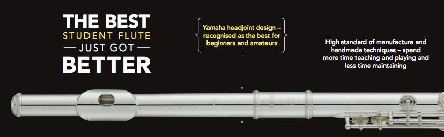 Yamaha YFL-212 New Model