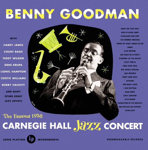 Goodman 1938 Carnegie Hall