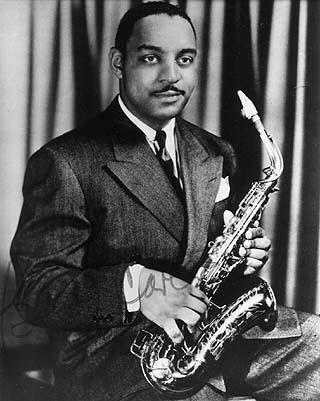 Benny Carter with Alto Sax