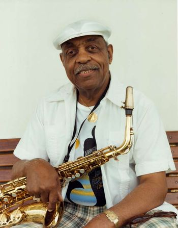 Benny Carter in later years