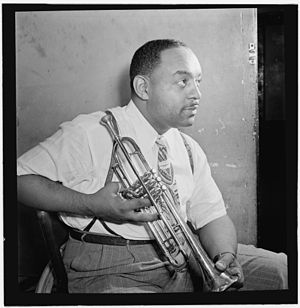 Benny Carter with Trumpet